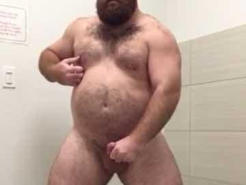 Big Hairy Stud Public Wank